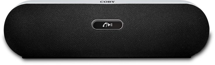 Coby CSBT-310-BLK-P Portable Bluetooth Speaker (Black). Portable Bluetooth Speaker with volume control buttons stream wireless music from the latest tablets, smartphones, laptops, iPad, iPhone and more. Rechargeable Battery allow hours of music. Better sound and better volume at an amazingly low price. Internal microphone makes talking on the phone easy and clear. Supreme sound bass.