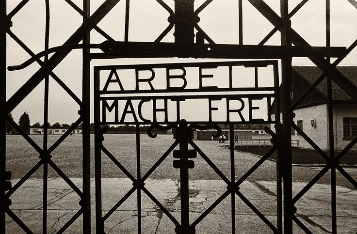 https://flic.kr/p/Rpn5Zx   Dachau concentration camp, 1987   Ivana Trump claimed Donald Trump kept a book of Hitler's speeches on his bedside table. It sounded like he borrowed a line or two today. Never forget!