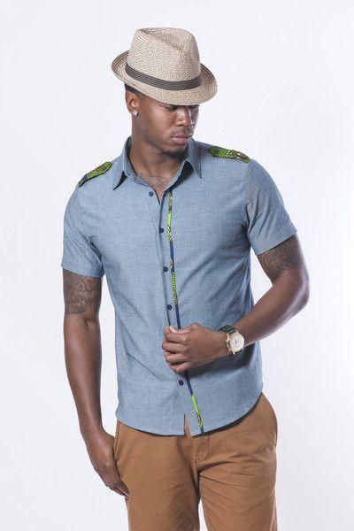 Blue Imari Shirt Zuvaa Fashion Pinterest