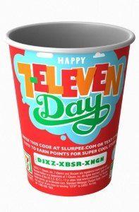 SLURPEE Day! 7-Eleven, get a free SLURPEE after work today!