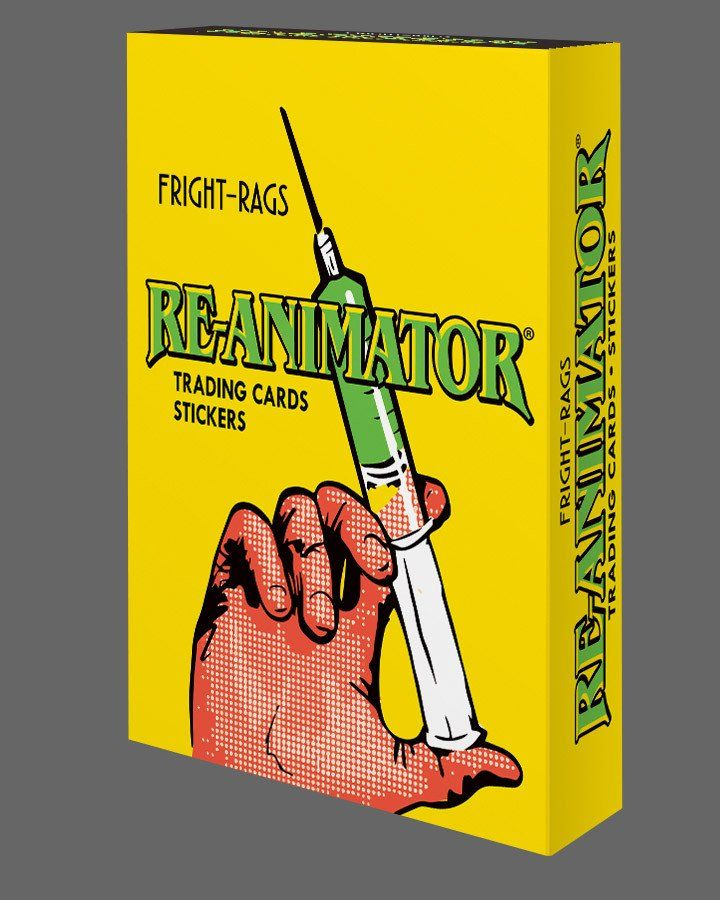 Re-Animator Trading Cards - Factory Box (Pre-Order)