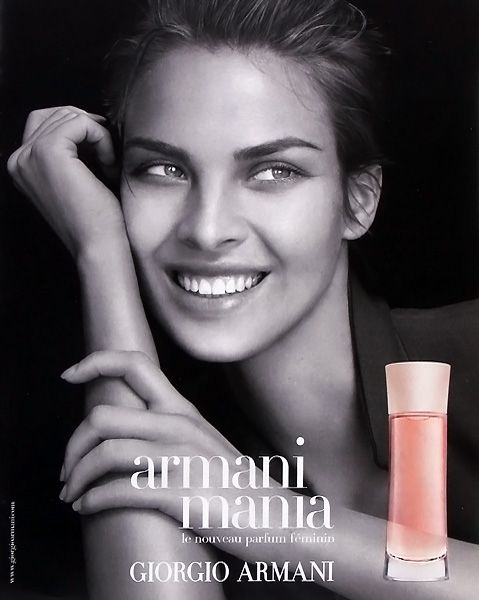 Pour FemmeDe Parfum Publicité Giorgio Du ArmaniParfums Mania k0N8wOZPnX