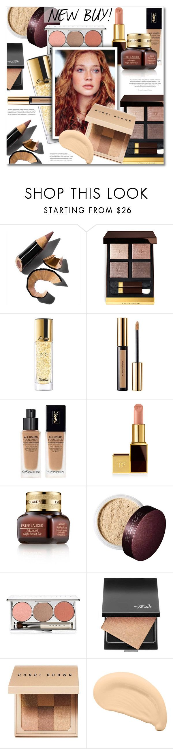 """""""MAKE UP LOVERS!"""" by defivirda ❤ liked on Polyvore featuring beauty, Bobbi Brown Cosmetics, Tom Ford, Guerlain, Yves Saint Laurent, Estée Lauder, Laura Mercier, Chantecaille and Trish McEvoy"""