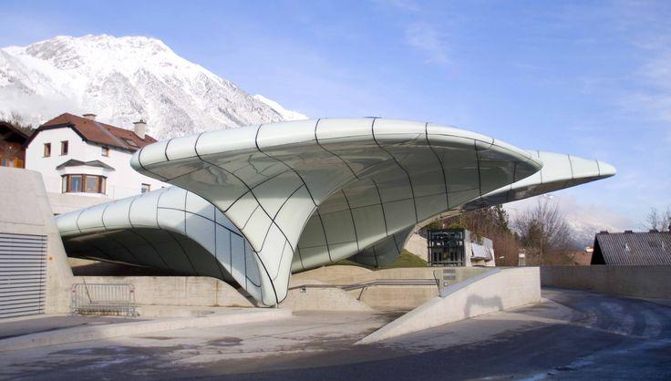 Innsbruck zaha hadid architecture architecture zaha for Interior design innsbruck