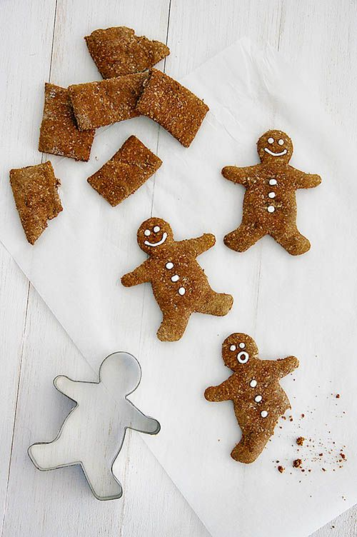 Dog I Y: Gingerbread Men from 52 Weeks of Treats by Serena Faber Nelson