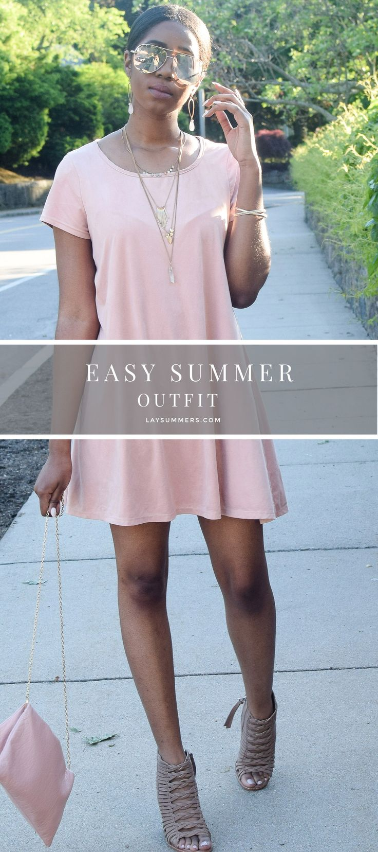 Here's an easy and stylish outfit that is perfect your everyday summer wardrobe. It is no surprise that I love dresses...
