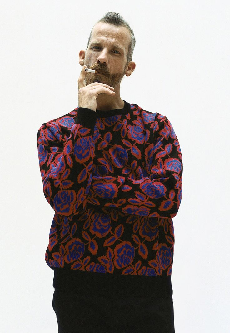 Supreme Fall/Winter 2012 Lookbook: Rose Sweater - Love this sweater. . .so what if it's for a guy!!!!