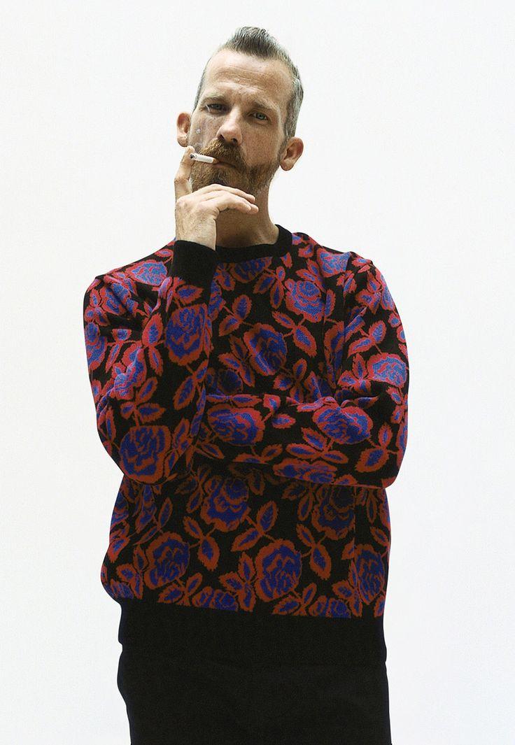 Supreme Fall/Winter 2012 Lookbook: Rose Sweater