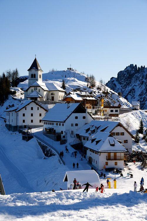 Monte Santo di Lussari - Friuli Venezia Giulia - Italy. #Yamadu per le tue case vacanze in Friuli :-)