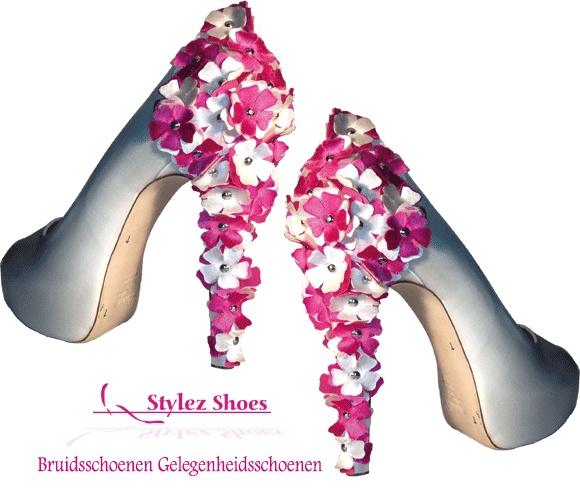 Bijzondere trouwschoenen van Stylez exclusive.