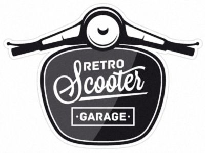 Retro scooter garage nice retro scooter and scooters for Garage scooter nice