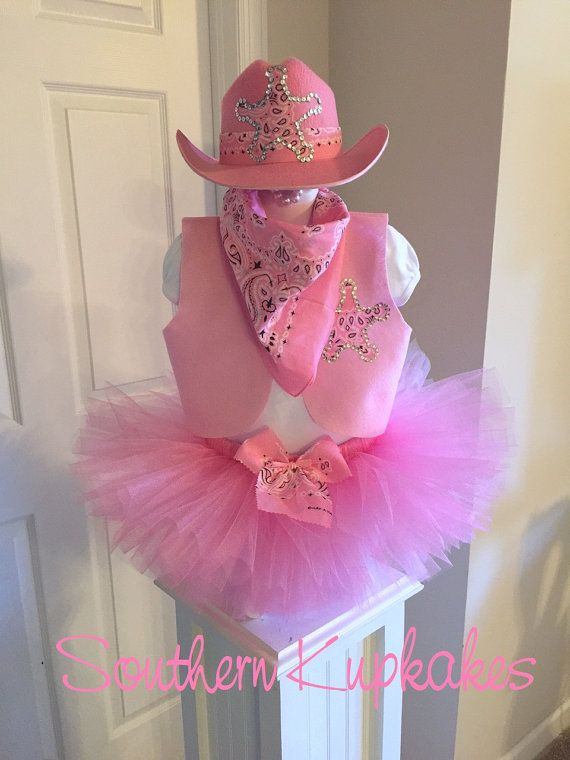 HAT SOLD SEPARATELY!  Another one of our Southern Kupkake Originals.......! Pretty in Pink Cowgirl Western Wear Set  Listing includes: Shirt,