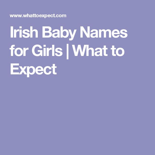 Irish Baby Names for Girls   What to Expect