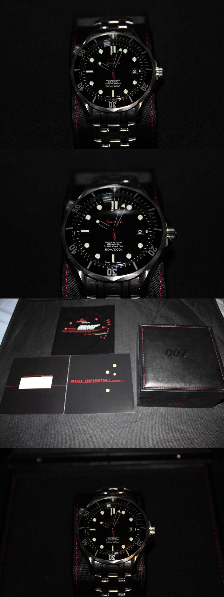 Other Watch Parts and Tools 180246: Omega James Bond Seamaster Limited Edition Quantum Of Solace -> BUY IT NOW ONLY: $4795 on eBay!