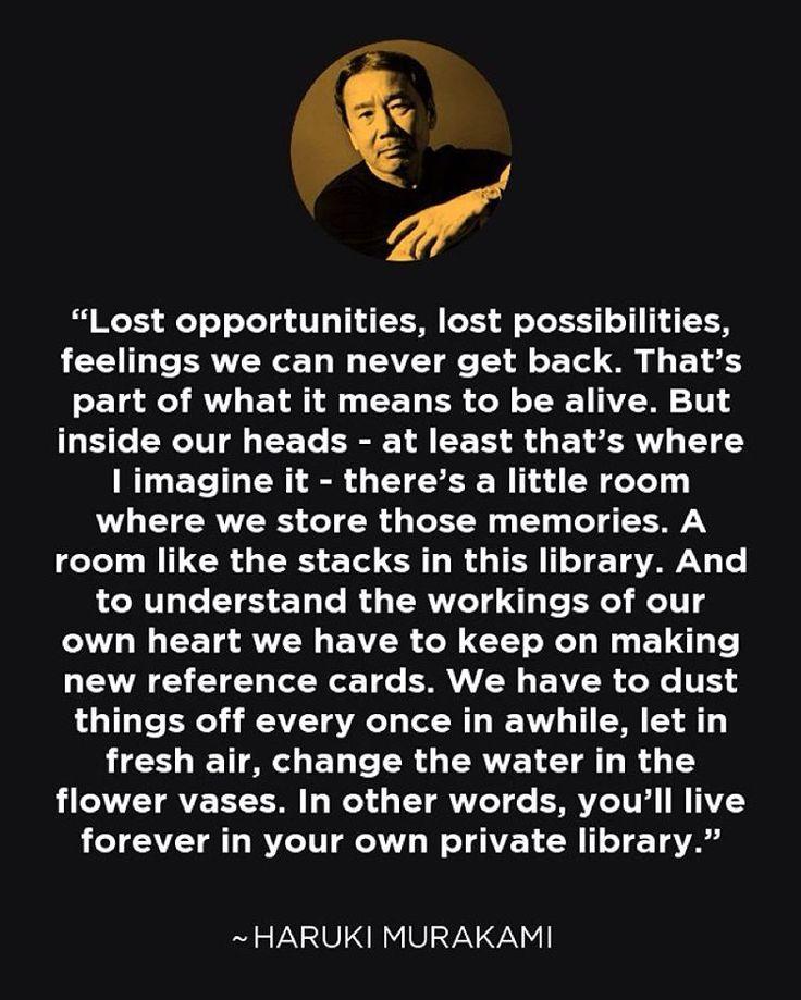 Haruki Murakami #LoveLost