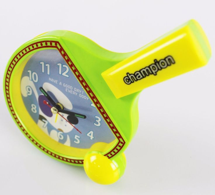 Table tennis #novelty desk #clock #-battery operated,  View more on the LINK: 	http://www.zeppy.io/product/gb/2/331837662968/