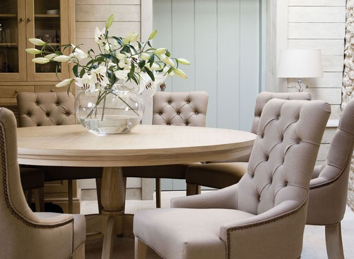 Neptune table and chairs