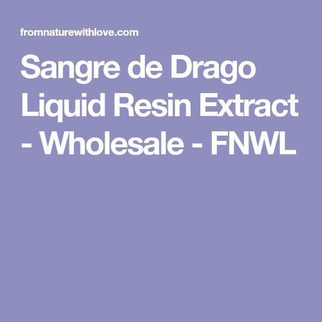 Sangre de Drago Liquid Resin Extract - Wholesale - FNWL