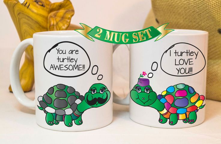 turtle love mugs,turtle mugs,turtle love,couple gifts,couples gifts,his and hers gifts, couple mugs,gift ideas for couples,funny mugs,love by TheMugLoft on Etsy