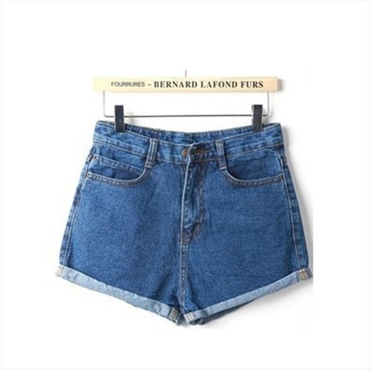 8.85$ (Buy here: http://alipromo.com/redirect/product/olggsvsyvirrjo72hvdqvl2ak2td7iz7/32610843007/en ) GOPLUS 2016 New  Hot Women's Jeans High Waist Stretch Denim Shorts Slim Jeans Feminino BrandSummer Spring Plus Size 26-32 C2296 for just 8.85$