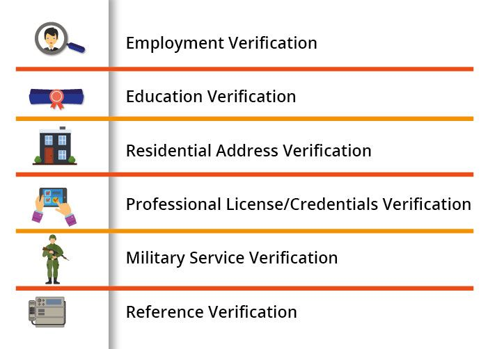 There are times when #employers have to scrutinize candidate's information pertaining to #employment, education, professional license, military service and references.
