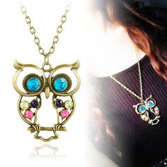 $12 for an Owl Necklace | DrGrab