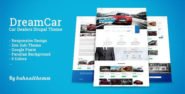 DREAM CAR - Premium Car Dealers Drupal Theme - Themesnap
