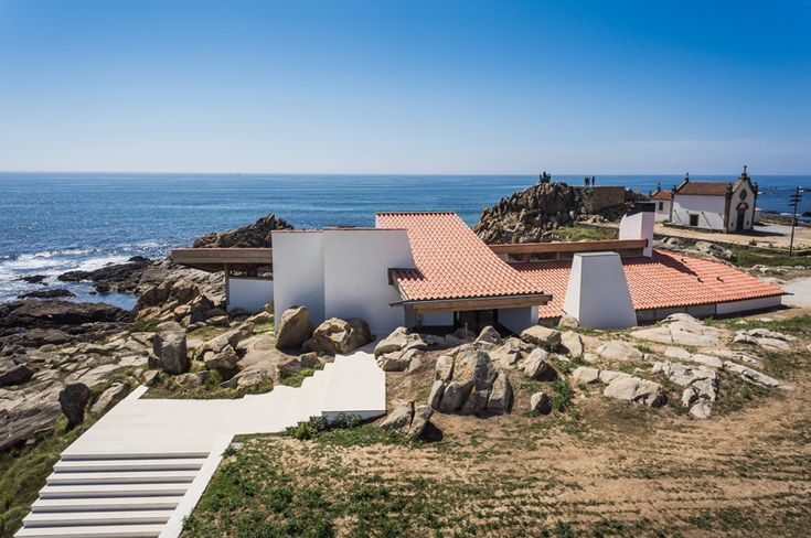 renowned portuguese architect alvaro siza has renovated 'the boa nova tea house', a project he originally completed in 1963.