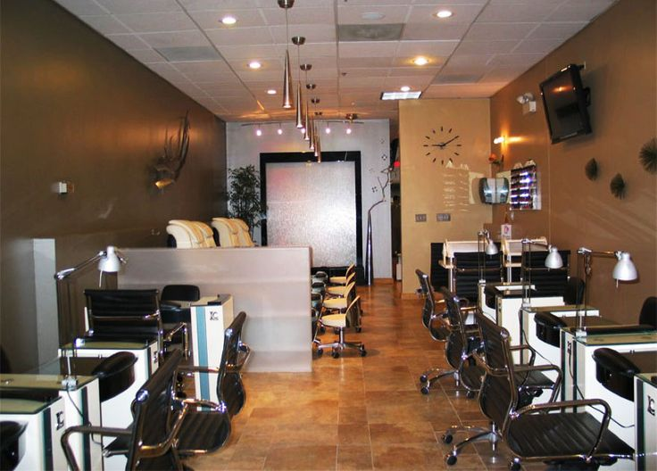 30 Best Nail Salon   Decor Images On Pinterest | Nail Salon Decor, Nail  Salons And Nail Salon Design