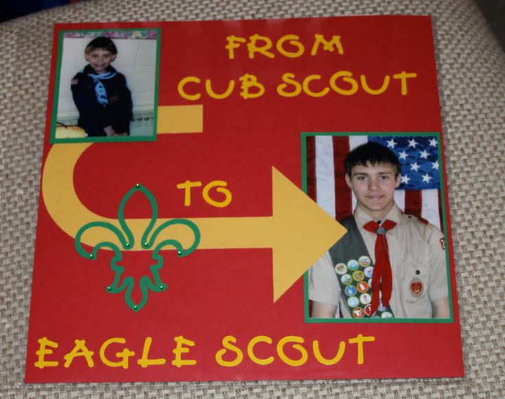 eagle scout scrapbook | ... Eagle Scout recently and his mom asked for some scrapbooking help