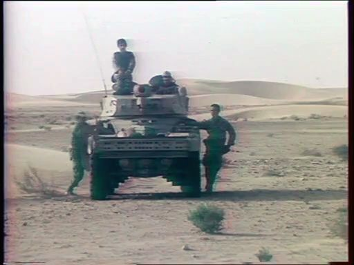 Royal Moroccan Army During the War in the Western Sahara.