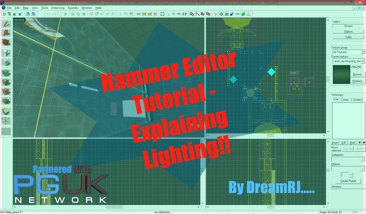 Hammer Editor Tutorial - Explaining Lighting!!