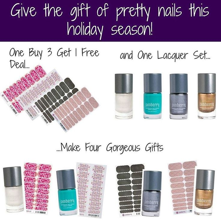 Gift Idea Alert    Holidays are fast approaching.    This is a fantastic idea!  Choose your own ideas/colours for this deal.    Link in bio  angelahorne.jamberry.com    #christmas #giftguide #giftset #deals #sparkle #jamberry #jamberrynails #jamberrynailwraps #nails #nailwraps #nailart #manicure #mani #pedicure #pedi #value #wow #jamicure #getonefree #cute #pretty #nailpolish #naillacquer