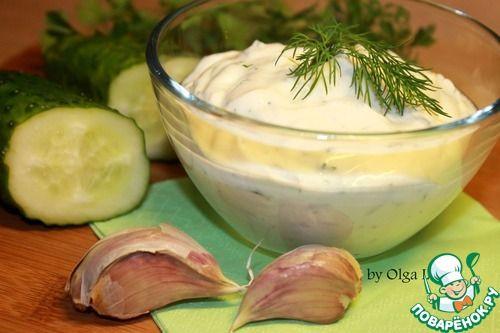 Острый крем-сыр из кефира с зеленью - кулинарный рецепт