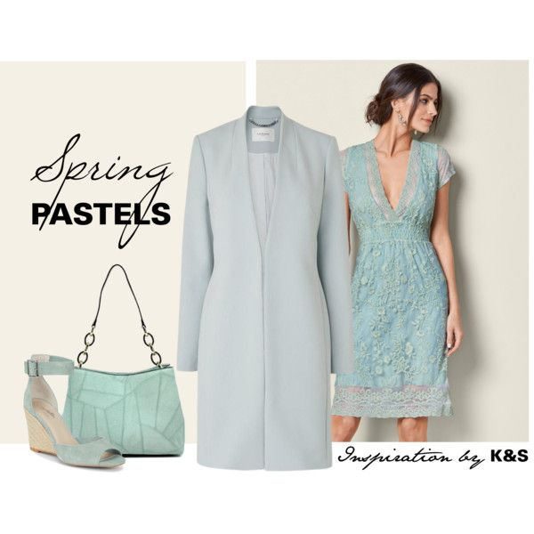 pastel by info-934 on Polyvore featuring Venus, L.K.Bennett and Seychelles