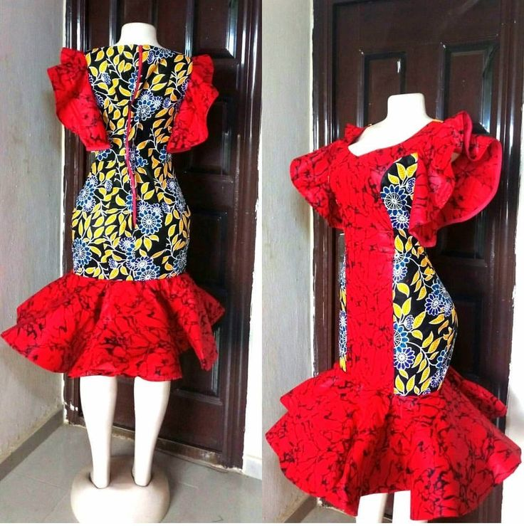 ANKARA GOWN 2019 STYLES MAKES THE LADY SLIMMER AND TALLER!