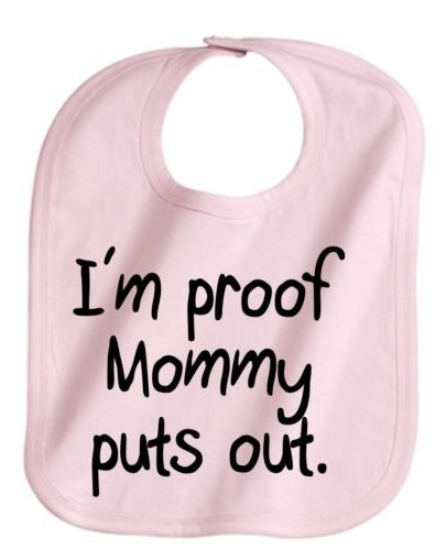 Bib for baby number 2 (Yes, I will be putting this on my child.  Don't judge!)