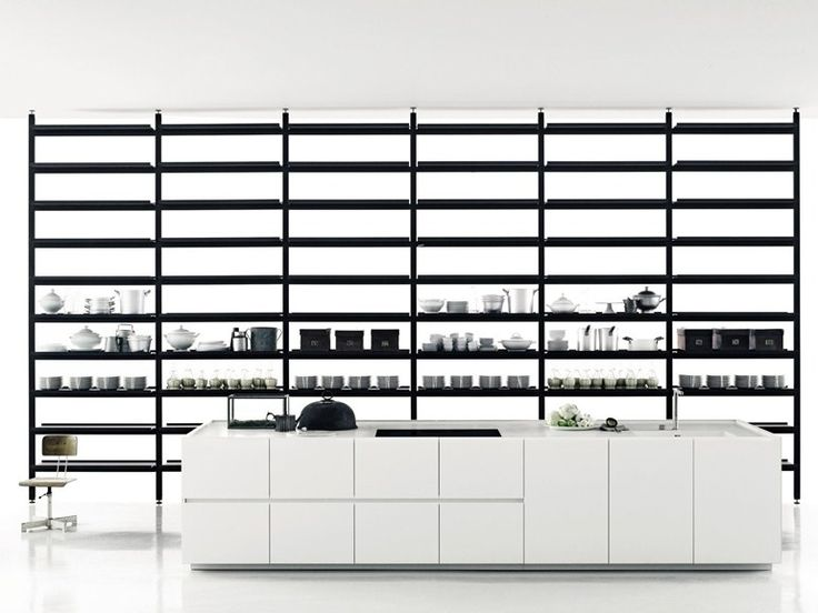 Linear Corian® Kitchen K20 By Boffi | Design Norbert Wangen