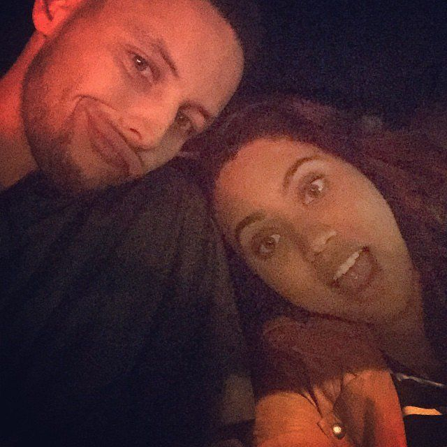 Cute Pictures of Stephen Curry and His Wife, Ayesha | POPSUGAR Celebrity Photo 9