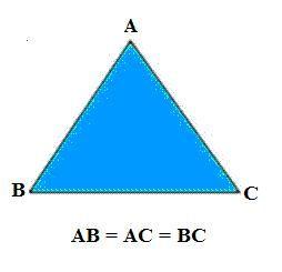 Classificação dos triângulos - Escola Kids