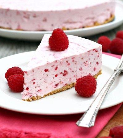 Dondurulmuş Ahududulu Cheesecake Tarifi