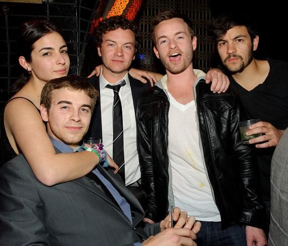 Alanna (Tara in the walking dead) - Will - Danny (Hyde in that 70's show) - Chris (Francis in Malcom in the Middle) - and -Jordan Masterson (Mark in 40 year old virgin) . #Crazy #Siblings