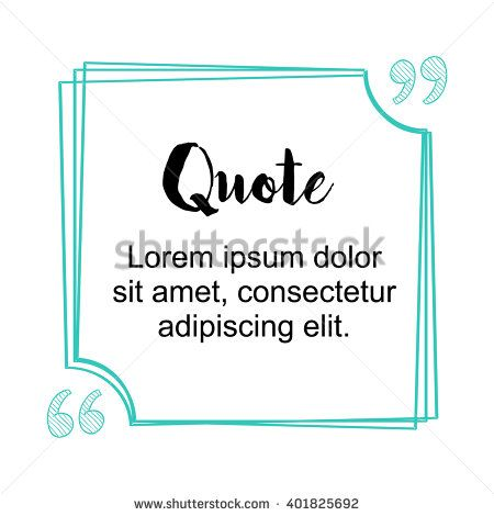 13 best Pull quote style images on Pinterest Graphics, Color - quote sheet template