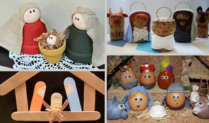 17 best images about navidad original on pinterest mesas - Decoracion con reciclaje ...