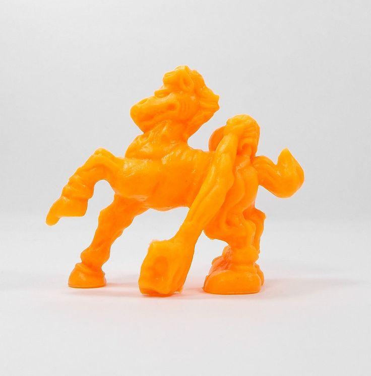 Monster In My Pocket - Series 2 - 66 Nuckelavee - Neon Orange - Mini Figure