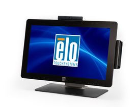 "Elo E382790 2201L 22"""" LCD Wide-screen POS Touch Monitor, iTouch (SAW), Zero Bezel, GRAY"