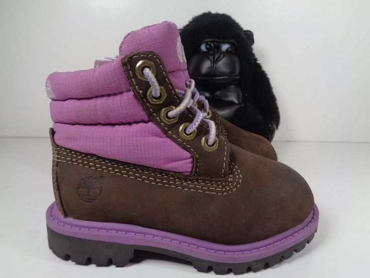 Babies Timberland Boots Girls size 6 Toddlers #Timberland #Boots