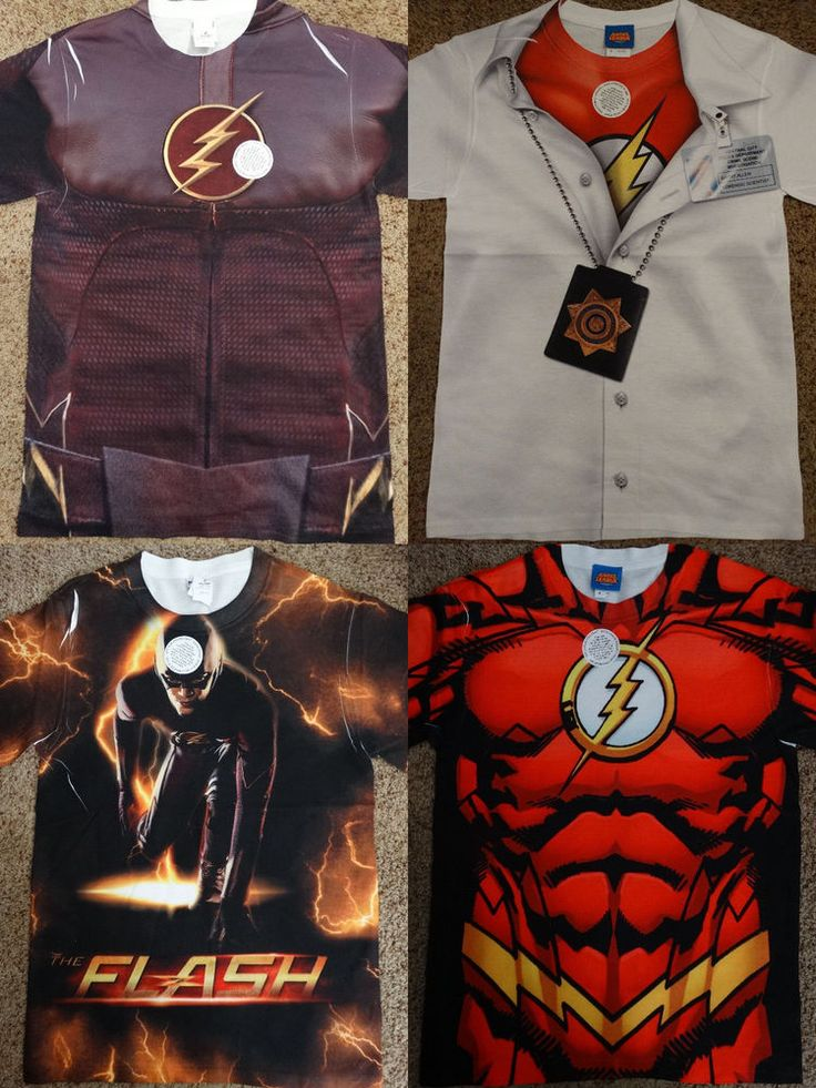 The Flash Barry Allen CW Tv Show Dc Comics Front Only Sublimation Print T-Shirt #TheFlash #GraphicTee