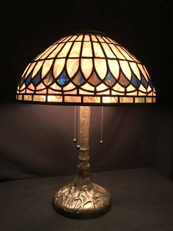 Elegance Tiffany Glass Lamps