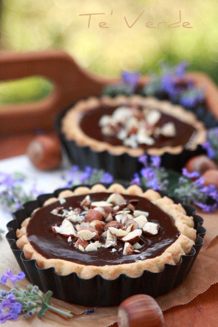 Tartellette di Cioccolato e Nocciole
